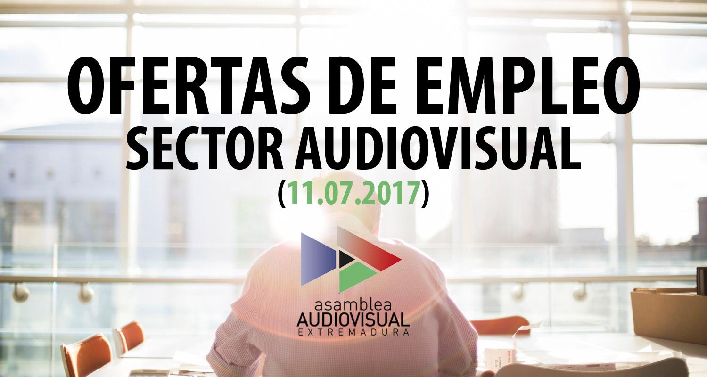Nuevas ofertas de empleo en el sector audiovisual 11 07 - Ofertas de empleo madrid ...