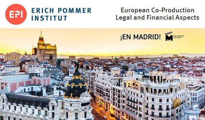 Cartel el curso sobre coproducción del Erich Pommer Institut