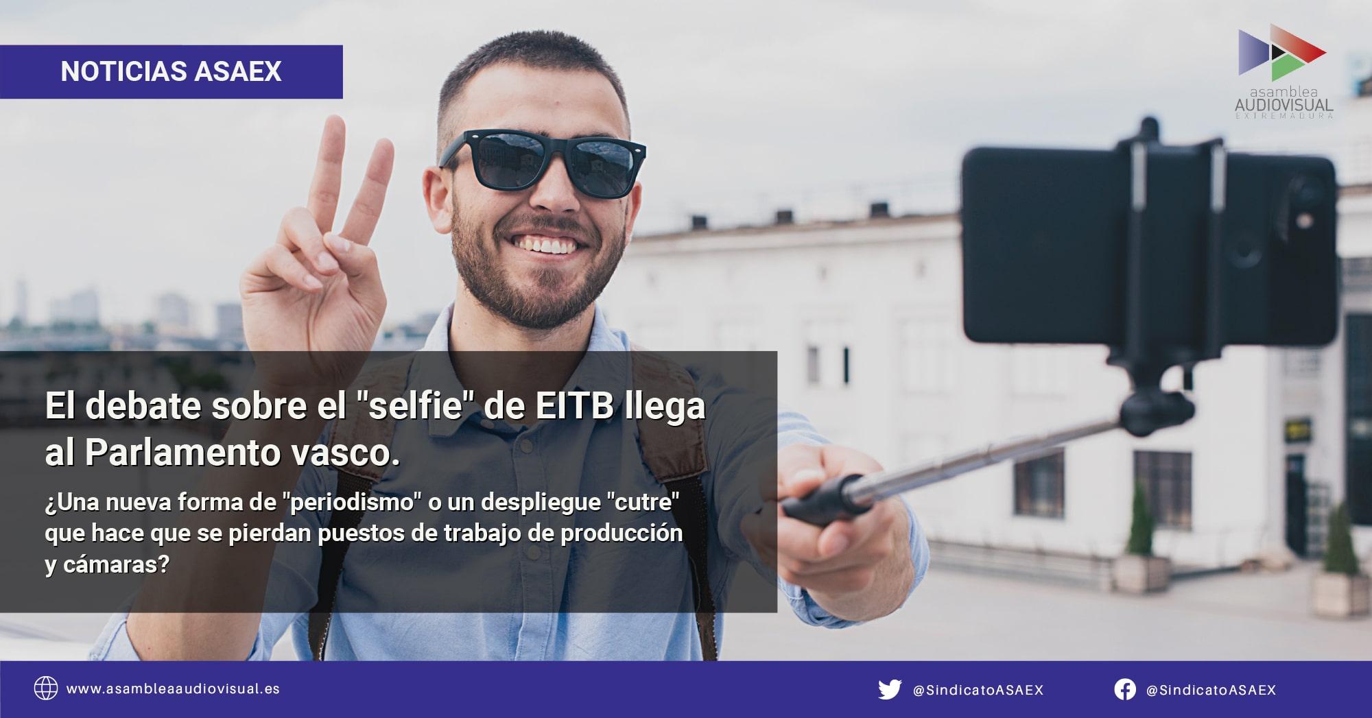 El debate sobre el selfie de EITB llega al Parlamento vasco
